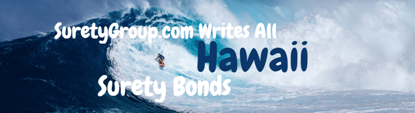 SuretyGroup.com writes all Hawaii surety bonds