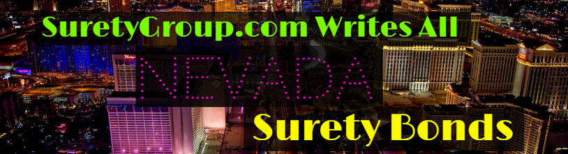 SuretyGroup.com writes all Nevada surety bonds
