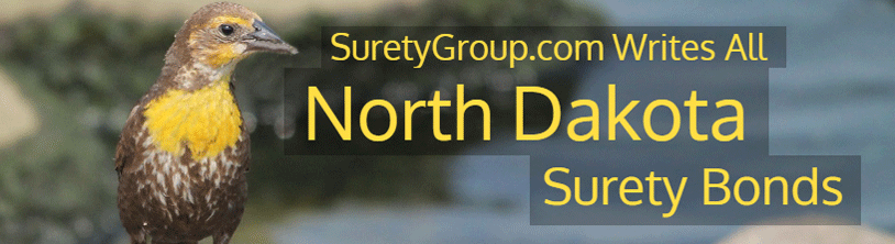 SuretyGroup.com writes all North Dakota surety bonds