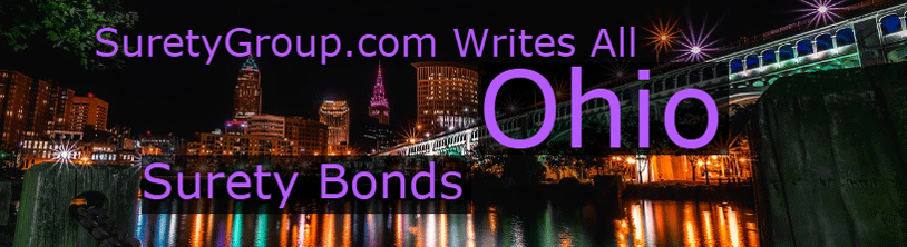 SuretyGroup.com writes all Ohio Surety Bonds