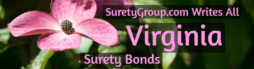 SuretyGroup.com writes all Virginia surety bonds