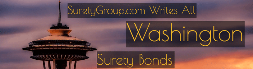 SuretyGroup.com writes all Washington surety bonds