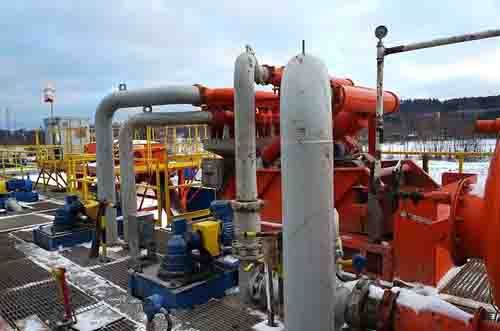 Drilling for Natural Gas