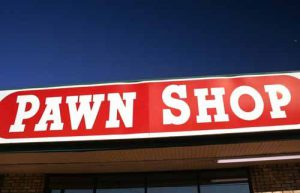 A Pawn Shop sign